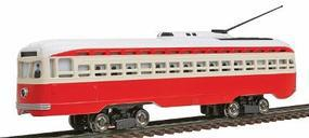 Bachmann PCC Trolley St Louis Railways HO Scale Trolley and Hand Car #62933