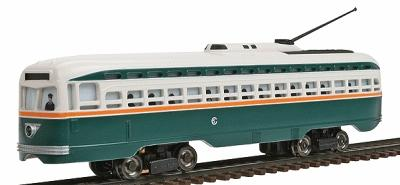 Bachmann HO PCC Trolley Chicago Surface Lines (D)