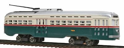 Bachmann PCC Trolley Toronto Transit -- HO Scale Trolley and Hand Car -- #62935