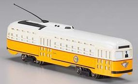 Bachmann HO PCC Trolley Boston HO Scale Trolley and Hand Car #62938