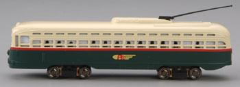 Bachmann PCC Trolley Philly Transit Co. -- HO Scale Trolley and Hand Car -- #62945