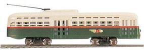 Bachmann Lighted Streamline Trolley PTC N Scale Trolley and Hand Car #62995