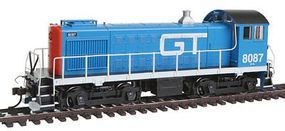 Bachmann Alco S4 Grand Trunk #8087 HO Scale Model Train Diesel Locomotive #63107
