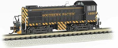 Bachmann S4 DCC Southern Pacific #1044 Orange/Black -- N Scale Model Train Diesel Locomotive -- #63152