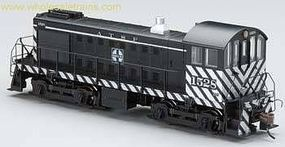 Bachmann Alco S4 Santa Fe #1529 HO Scale Model Train Diesel Locomotive #63209