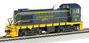Bachmann Alco S4 C&O #5109 DCC Sound HO Scale Model Train Diesel Locomotive #63214