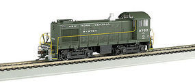 Bachmann S4 DCC with Sound New York Central #9762 HO Scale Model Train Diesel Locomotive #63217