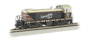 Bachmann Alco S2 DCC Chicago, Burlington & Quincy #9302 HO Scale Model Train Diesel Locomotive #63310