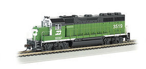 Bachmann EMD GP40 Burlington Northern #3519 HO Scale Model Train Diesel Locomotive #63503