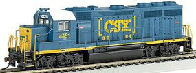 Bachmann EMD GP40 CSX #4451 (Dark Future) HO Scale Model Train Diesel Locomotive #63524