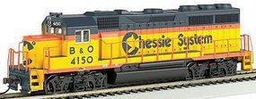 Bachmann EMD GP40 Chessie #4150 HO Scale Model Train Diesel Locomotive #63525