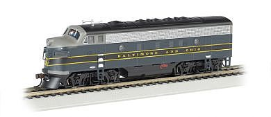 Bachmann F7 A Baltimore & Ohio -- HO Scale Model Train Diesel Locomotive -- #63709