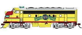 Bachmann Ringling Bros. F7-A HO Scale Model Train Diesel Locomotive #63711