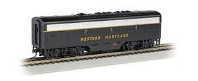 Bachmann F7 B DCC WM (Speed Lettering) HO Scale Model Train Diesel Locomotive #63806