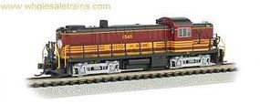 Bachmann Alco RS-3 DCC Sound Boston & Maine #1536 HO Scale Model Train Diesel Locomotive #63903