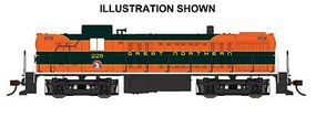 Bachmann RS-3 Great Northern #229 DCC Sound HO Scale Model Train Diesel Locomotive #63906