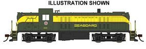 Bachmann RS-3 Seaboard #1633 DCC Sound HO Scale Model Train Diesel Locomotive #63907
