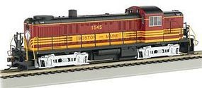 Alco RS-3 Boston & Maine 1545 HO Scale Model Train Diesel Locomotive #64201