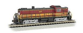 Bachmann RS3 Boston & Maine #1505 with DCC N Scale Model Train Diesel Locomotive #64257