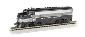 Bachmann F7 A DCC Sound NYC (Lightning Stripe) HO Scale Model Train Diesel Locomotive #64302