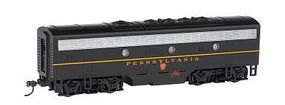 Bachmann F7 B DCC Sound Pennsylvania (Single Stripe) HO Scale Model Train Diesel Locomotive #64405