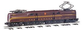 Bachmann GG1 Pennsylvania #4876 (Red) HO Scale Model Train Electric Locomotive #65202