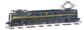 Bachmann GG1 DCC Ready Pennsylvania #4842 (Green) HO Scale Model Train Electric Locomotive #65203