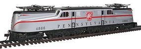 GG-1 Pennsylvania Silver with Red W/dcc HO Scale Model Train Electric Locomotive #65204