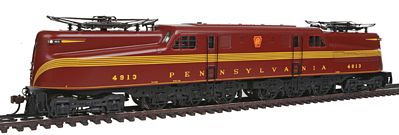 Bachmann GG1 w/DCC Pennsylvania Tuscan Red 4913 -- HO Scale Model Train Electric Locomotive -- #65302
