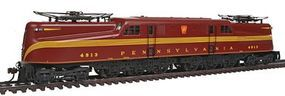 Bachmann GG1 w/DCC Pennsylvania Tuscan Red 4913 HO Scale Model Train Electric Locomotive #65302