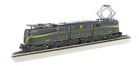 Bachmann GG-1 DCC Sound PRR 4829 Brunswick Green HO Scale Model Train Electric Locomotive #65307