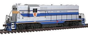 Bachmann EMD GP7 w/DCC GM Demonstrator #100 HO Scale Model Train Diesel Locomotive #65602