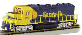 Bachmann EMD GP40 DCC Santa Fe #2964 HO Scale Model Train Diesel Locomotive #66302