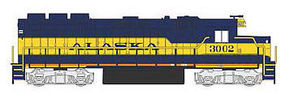 Bachmann EMD GP40 DCC Alaska #3002 HO Scale Model Train Diesel Locomotive #66303