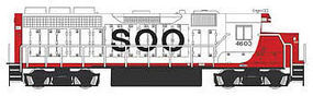 Bachmann EMD GP40 DCC Soo Line #4603 HO Scale Model Train Diesel Locomotive #66304