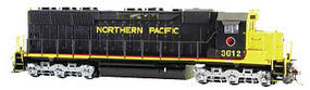 Bachmann EMD SD45 DCC Northern Pacific #3612 N Scale Model Train Diesel Locomotive #66455