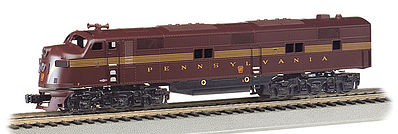 Bachmann EMD E7-A Pennsylvania RR with Sound HO Scale Model Train Diesel Locomotive #66601
