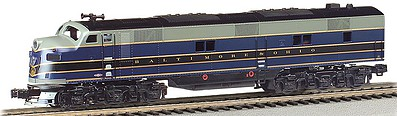 Bachmann EMD E7-A DCC with Sound Baltimore & Ohio HO Scale Model Train Diesel Locomotive #66605