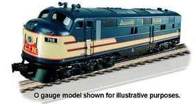 Bachmann EMD E7-A Louisville & Nashville DCC Ready HO Scale Model Train Diesel Locomotive #66703
