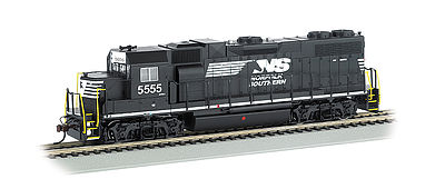 Bachmann EMD GP38-2 Norfolk Southern #5555 with Sound HO Scale Model Train Diesel Locomotive #66802
