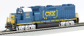Bachmann GP38-2 DCC with Sound CSX #2640 HO Scale Model Train Diesel Locomotive #66803