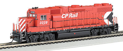 Bachmann GP38-2 DCC with Sound Canadian Pacific #3039 -- HO Scale Model Train Diesel Locomotive -- #66805