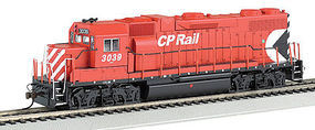 Bachmann GP38-2 DCC with Sound Canadian Pacific #3039 HO Scale Model Train Diesel Locomotive #66805