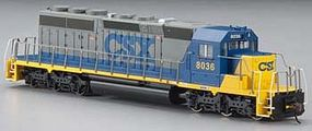 Bachmann EMD SD40-2 CSX Bright Future #8036 HO Scale Model Train Diesel Locomotive #67013