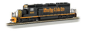 Bachmann SD40-2 Wheeling & Lake Erie 6352 HO Scale Model Train Diesel Locomotive #67020
