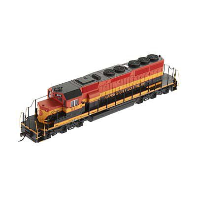 Bachmann SD40-2 Kansas City Southern #691 HO Scale Model Train Diesel Locomotive #67025