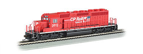 Bachmann SD40-2 Canadian Pacific Rail #5612 with sound HO Scale Model Train Diesel Locomotive #67201
