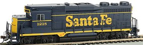 Bachmann HO GP30 Diesel Locomotive Santa Fe #1218 (Blue/Yellow)