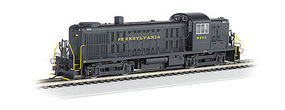 Bachmann RS-3 Touch-Screen E-Z App Pennsylvania RR #8605 HO Scale Model Train Diesel Locomotive #68601