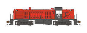 Bachmann RS-3 Touch-Screen E-Z App New Haven #543 HO Scale Model Train Diesel Locomotive #68603
